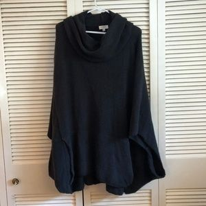 Batwing Cowl Neck Sweater